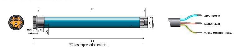 Motor-Somfy-Oximo-IO-tubos